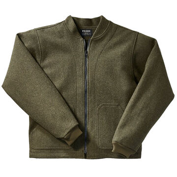 Filson Mens Wool Zip-In Jacket Liner