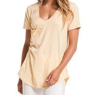 Z Supply Women's Cotton Slub Pocket Short-Sleeve T-Shirt