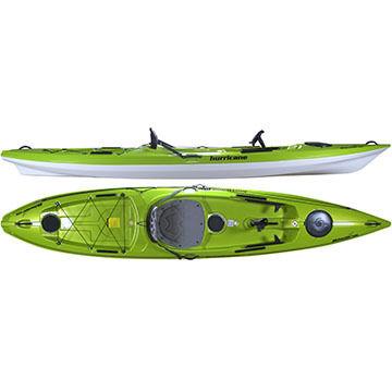 Hurricane Skimmer 128 Angler DLX Sit-On-Top Fishing Kayak