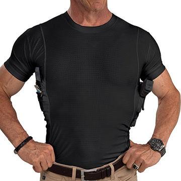 Glock Mens Executive Concealment Crew Neck Shirt