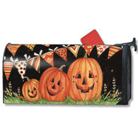 MailWraps Party Time Pumpkins Magnetic Mailbox Cover