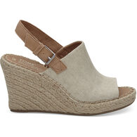 TOMS Women's Monica Oxford Wedge Sandal