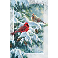 Pumpernickel Press Cardinal Greetings Deluxe Boxed Greeting Cards