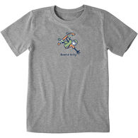 Life is Good Boy's Board Silly Vintage Crusher Short-Sleeve T-Shirt