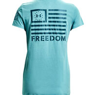 Under Armour Women's UA Freedom Banner Short-Sleeve T-Shirt