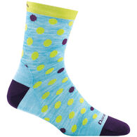 Darn Tough Vermont Boys' & Girls' Dot and Stripe Crew Light Cushion Sock