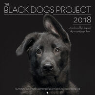 The Black Dogs Project 2018 Wall Calendar by Fred Levy