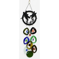 Bottle Benders Dragonfly Metal Top Windchime