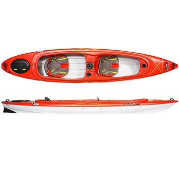 Pelican Unison 136T Tandem Kayak -  Discontinued Model