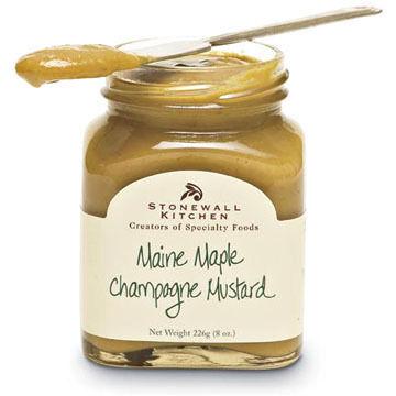 Stonewall Kitchen Maine Maple Champagne Mustard 8 oz.