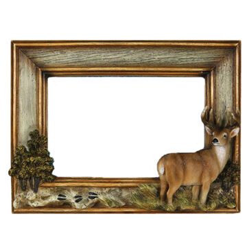 Rivers Edge Deer Picture Frame
