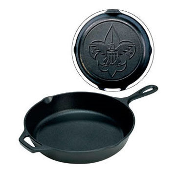 Lodge Boy Scouts of America Engraved Skillet