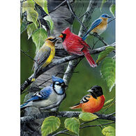 Carson Home Accents Flagtrends Songbird Gathering Garden Flag