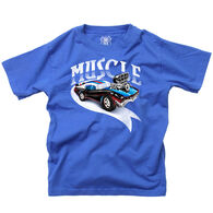 Wes And Willy Boy's Muscle Car Short-Sleeve T-Shirt