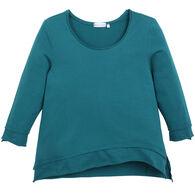 Habitat Women's Wave Hem 3/4-Sleeve T-Shirt