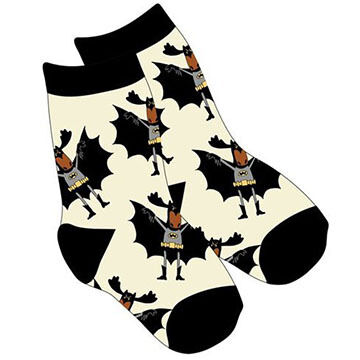 Lazy One Boys & Girls Bat Moose Sock