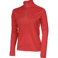 Karbon Women's Shift 1/4-Zip Turtleneck Pullover Shirt