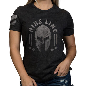 Nine Line Apparel Womens Spartan Relaxed Fit Short-Sleeve T-Shirt