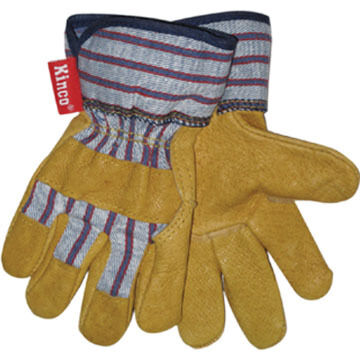 Kinco Boys & Girls Grain Pigskin Leather Palm Glove