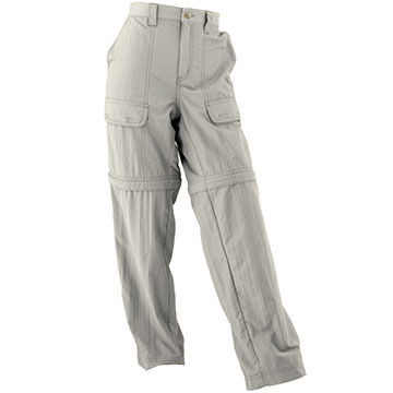 White Sierra Boys Convertible Pant