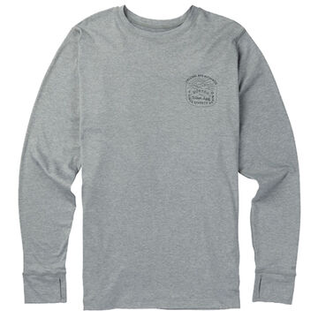 Burton Mens Midweight Crew-Neck Long-Sleeve Shirt