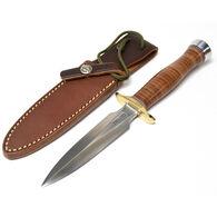 Randall Model 2 Letter Opener Leather Handle Fixed Blade Knife