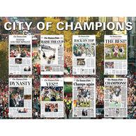 White Mountain Jigsaw Puzzle - Boston City of Champions