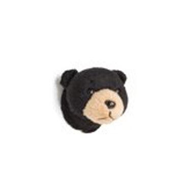 Stuffed Animal House Black Bear Magnet