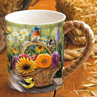 Wild Wings Summer Bouquet Mug