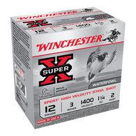 "Winchester Super-X Xpert Hi-Velocity Steel 12 GA 3"" 1-1/4 oz. #2 Shotshell Ammo (25)"