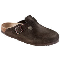 Birkenstock Women's Boston Soft Footbed Suede Leather Clog