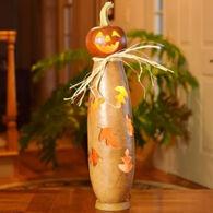 Meadowbrooke Gourds Dexter Jack O' Lantern Tall Lit Gourd