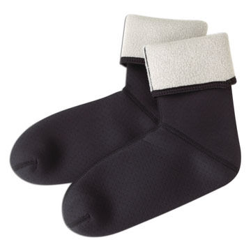 Caddis Neoprene Fleece Lined Sock