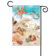 BreezeArt Seashore Treasures Garden Flag