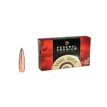 Federal Premium Vital-Shok 270 Winchester 130 Grain Sierra GameKing BTSP Rifle Ammo (20)