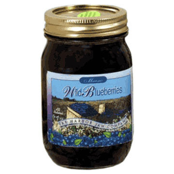 Bar Harbor Jam Company Maine Wild Blueberries