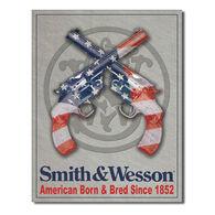 Desperate Enterprises Smith & Wesson American Born Tin Sign