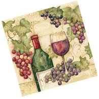 Keller Charles Pinot Grape Cocktail Napkin