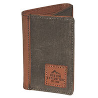 Buxton Men's Expedition RFID Three Fold Wallet