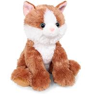 "Aurora Orange Cat 14"" Plush Stuffed Animal"