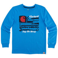 Carhartt Boys' Carhartt Strong Long-Sleeve T-Shirt