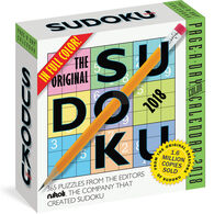 The Original Sudoku 2018 Page-A-Day Calendar by Editors at Nikoli