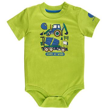 Carhartt Infant/Toddler Boys' Hard At Work Bodyshirt