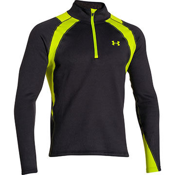 Under Armour Mens Extreme Base Scent Control Quarter Zip Top