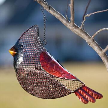 Evergreen Cardinal Seed Feeder