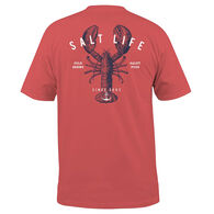 Salt Life Men's Lobster Shanty Pocket Short-Sleeve T-Shirt