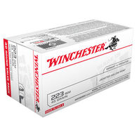 Winchester 223 Remington 45 Grain Jacketed Hollow Point Rifle Ammo (40)