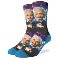 Good Luck Sock Men's Albert Einstein Crew Sock