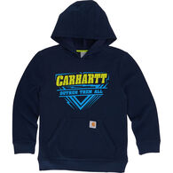Carhartt Boys' OutRun Them All Hooded Sweatshirt