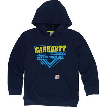 Carhartt Boys' OutRun Them All Hooded Sweatshirt